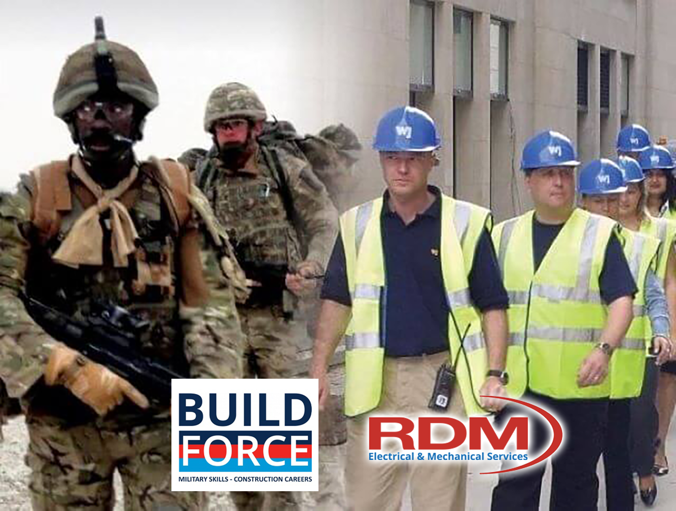 """Because they're worth it: """"Welsh Dragons"""" RDM Electrical & Mechanical Services join the BuildForce Alliance"""