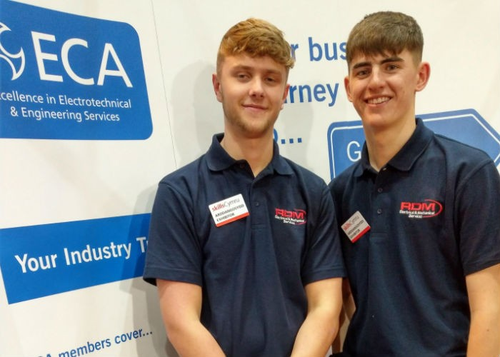 Apprentices from RD Group highlight future opportunities in building design and construction